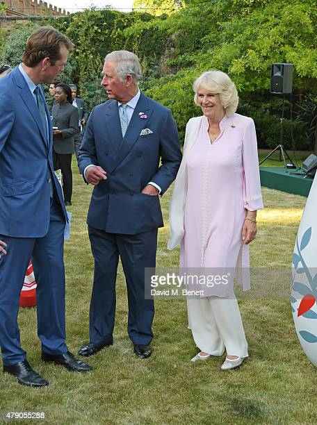 Ben Elliot Prince Charles Prince of Wales and Camilla Duchess of Cornwall attends the Quintessentially Foundation and Elephant Family's Royal...