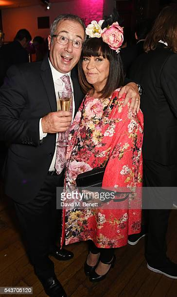 Ben Elton and Dawn French attend the World Premiere after party of 'Absolutely Fabulous The Movie' at Liberty on June 29 2016 in London England
