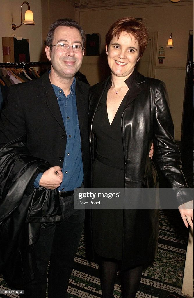 Ben Elton And Wife, After Party For Lenny Henry S First Night, At Browns In St Martins Lane, London