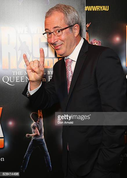 Ben Elton arrives ahead of We Will Rock You Opening Night at Lyric Theatre Star City on May 5 2016 in Sydney Australia