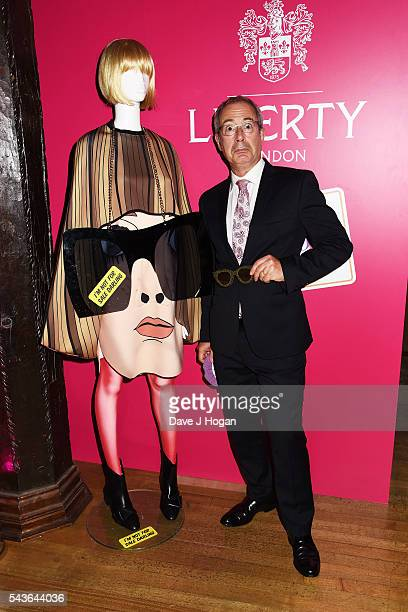 """Ben Elton attends the after party of the world premiere of """"Absolutely Fabulous: The Movie"""" at Liberty on June 29, 2016 in London, England."""