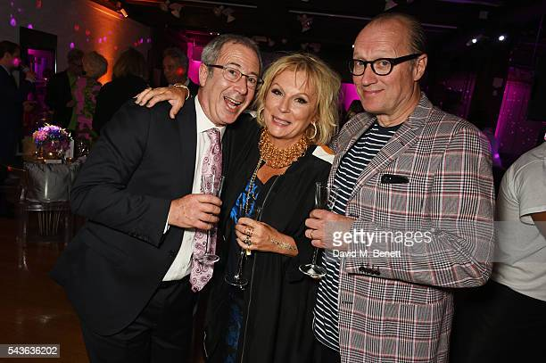Ben Elton Jennifer Saunders and Ade Edmondson attend the World Premiere after party of 'Absolutely Fabulous The Movie' at Liberty on June 29 2016 in...