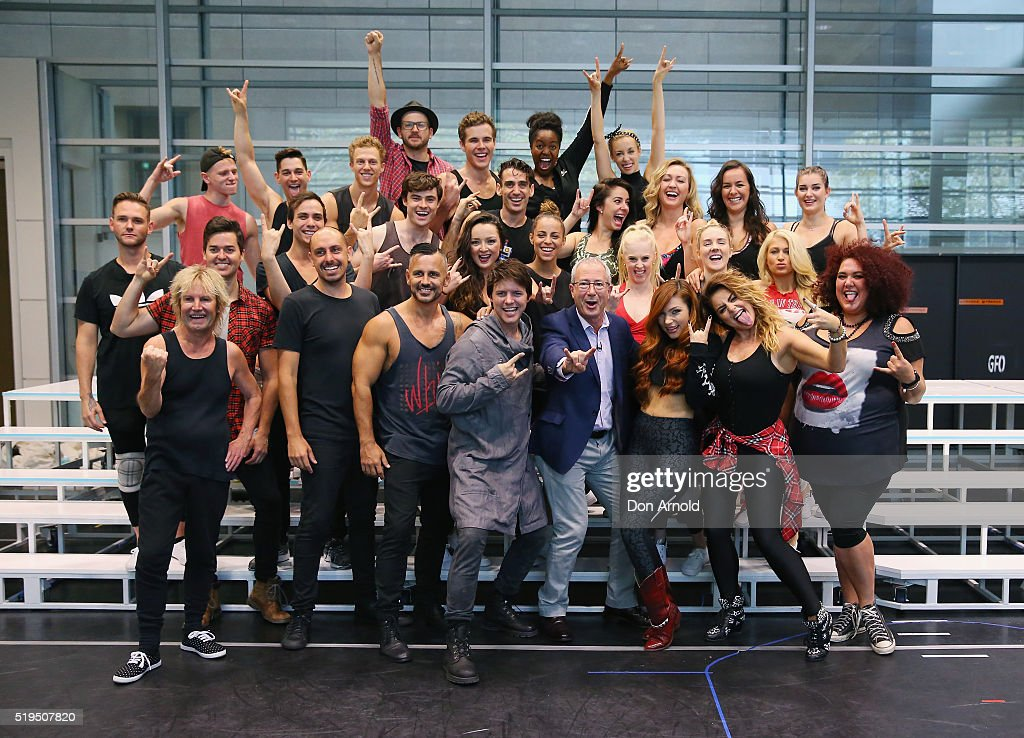 We Will Rock You Media Call And Rehearsal