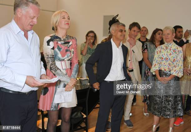 Ben Evans Justine Simons Deputy Mayor for Culture and the Creative Industries Mayor of London Sadiq Khan and Maria Balshaw attend the Mayor of...