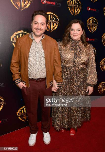 """Ben Falcone and Melissa McCarthy attend CinemaCon 2019 Warner Bros Pictures Invites You to """"The Big Picture"""" an Exclusive Presentation of its..."""