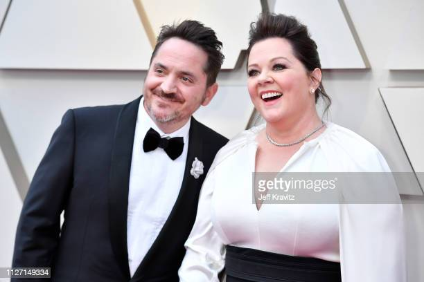 Ben Falcone and Melissa McCarthy attends the 91st Annual Academy Awards at Hollywood and Highland on February 24, 2019 in Hollywood, California.