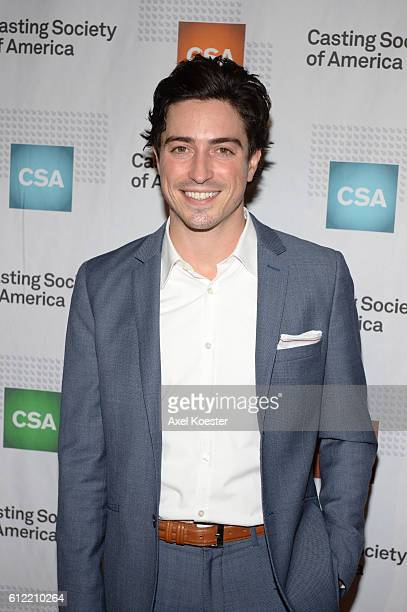Ben Feldman arrives to The Casting Society of America's 30th Annual Artios Awards Banquet at the Beverly Hilton Hotel Thursday evening