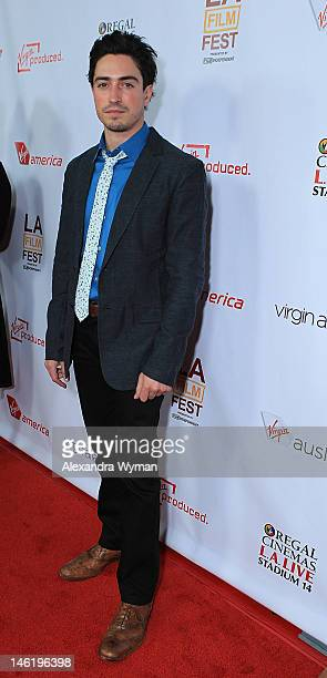 """Ben Feldman at The 2012 Los Angeles Film Festival Official Kick Off Premiere Of """"Departure Date"""" sponsored by Virgin Airlines held at The Regal..."""