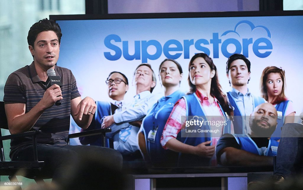 """The Build Series Presents Ben Feldman Discussing The Show """"Superstore"""" : News Photo"""