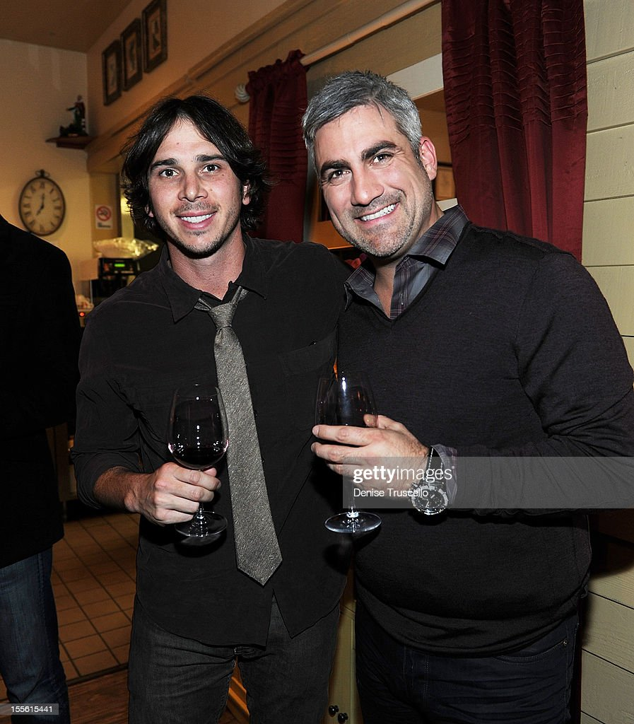 Ben Flajnik and Taylor Hicks attend a wine pairing dinner benefiting Henderson Boys and Girls Club at Bratalian Restaurant on November 5, 2012 in Henderson, Nevada.