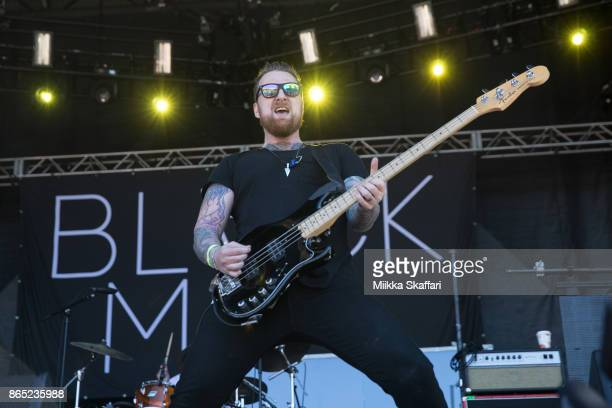 Ben Flanagan of Black Map performs at Monster Energy Aftershock Festival 2017 at Discovery Park on October 22 2017 in Sacramento California