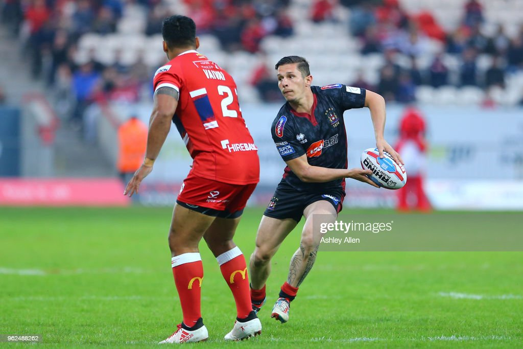 Hull KR v Wigan Warriors - BetFred Super League