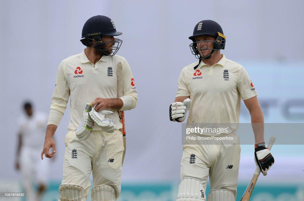 Sri Lanka v England: First Test - Day One : News Photo