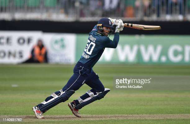 Ben Foakes of England during the ODI cricket match between Ireland and England at Malahide Cricket Club on May 3 2019 in Dublin Ireland