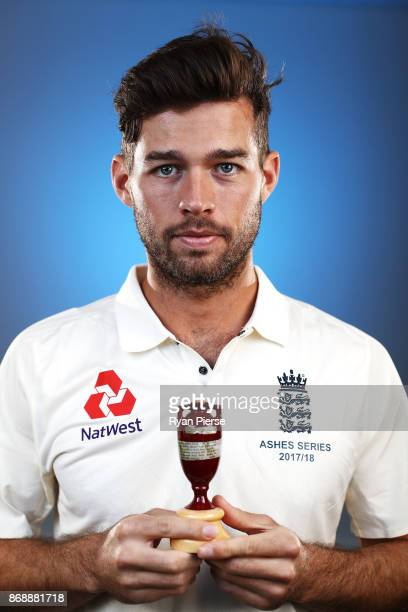 Ben Foakes of England poses during the 2017/18 England Ashes Squad portrait session at the WACA on November 1 2017 in Perth Australia