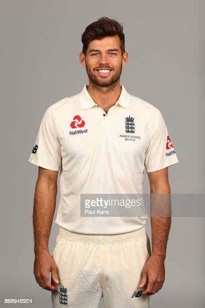 Ben Foakes poses during the 2017/18 England Ashes Squad headshots session at the Fraser Suites on November 1 2017 in Perth Australia