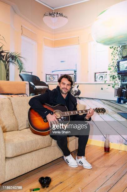 Ben Foden attending Masterplan25 The Oasis Photographs private view on November 21 2019 in London England