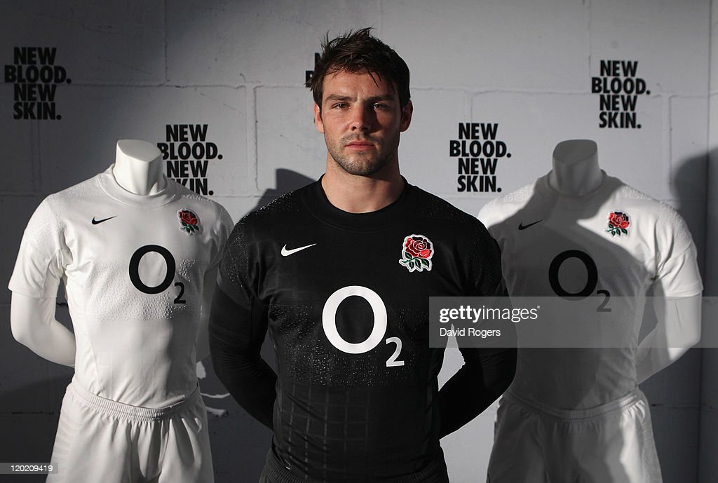 Launch of the Nike England Rugby World Cup Kit