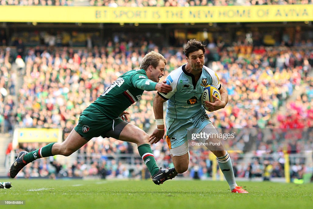 Leicester Tigers v Northampton Saints - Aviva Premiership Final : News Photo
