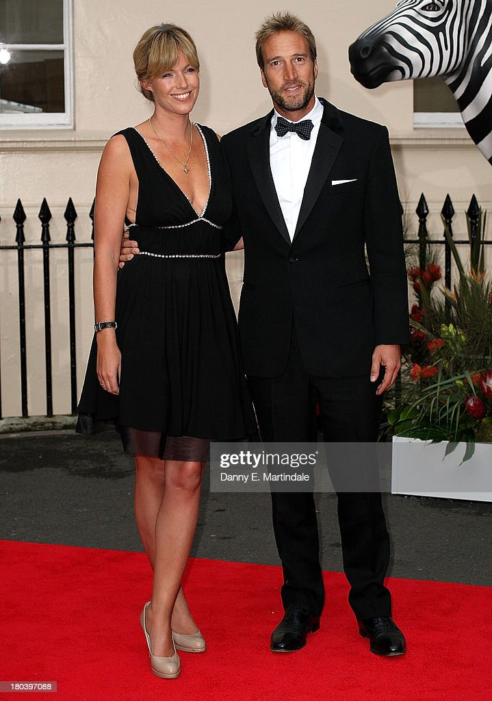 Ben Fogle (R) and Marina Fogle attend the Tusk Conservation Awards at The Royal Society on September 12, 2013 in London, England.