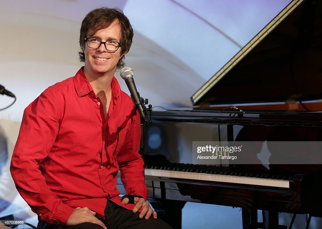 YoungArts Salon Featuring Singer-Songwriter Ben Folds, Moderated By Shelly Berg And Sponsored By Knight Foundation : News Photo