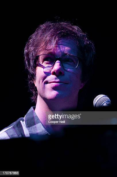 Ben Folds of the Ben Folds Five performs during the Last Summer on Earth tour at the Verizon Theatre in Grand Prairie Texas on June 17 2013
