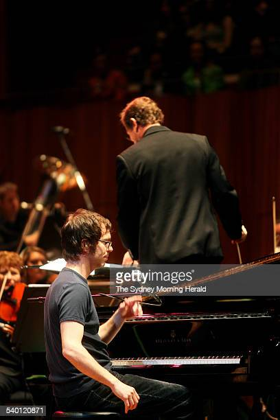 Ben Folds performs with the Sydney Symphony Orchestra at the Sydney Opera House 6 September 2006 SMH ARTS Picture by DOMINO POSTIGLIONE