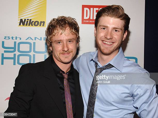 Ben Foster and Jon Foster during Movieline's Hollywood Life 8th Annual Young Hollywood Awards Arrivals at Music Box at The Fonda in Los Angeles...