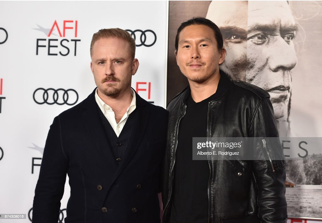 Ben Foster (L) and Ken Kao attend the screening of 'Hostiles' at AFI FEST 2017 Presented By Audi at TCL Chinese Theatre on November 14, 2017 in Hollywood, California.