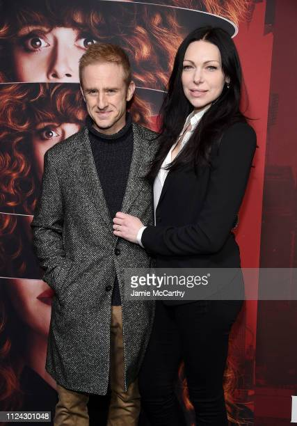 Ben Foster and Laura Prepon attend Netflix's Russian Doll Season 1 Premiere at Metrograph on January 23 2019 in New York City