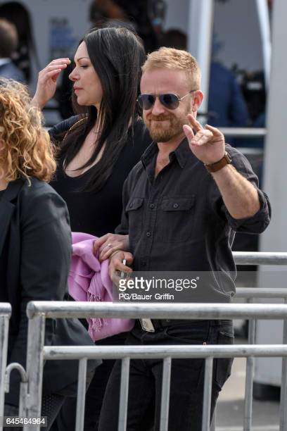 Ben Foster and Laura Prepon seen at the Spirit Awards on February 25 2017 in Los Angeles California