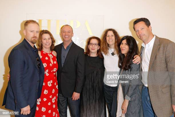 Ben Foster Anne Harrison Michael Bloom Adam Pincus Anne Rosellini Debra Granik and Andrew Karpen attend the Leave No Trace party presented by...