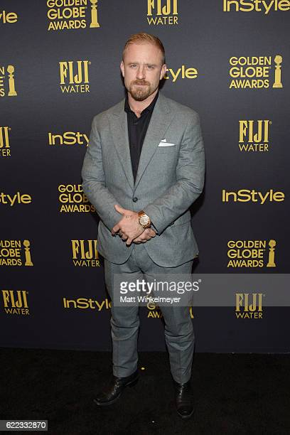 Ben Foster arrives at the Hollywood Foreign Press Association and InStyle celebrate the 2017 Golden Globe Award Season at Catch LA on November 10...