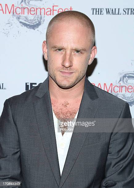 Ben Foster attends BAMcinemaFest 2013 And The Cinema Society Host The Opening Night Premiere Of Ain't Them Bodies Saints at BAM Harvey Theater on...