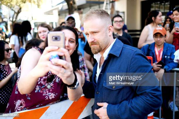 Ben Foster attends the 'Galveston' Premiere 2018 SXSW Conference and Festivals at Paramount Theatre on March 10 2018 in Austin Texas