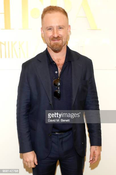 Ben Foster attends the Leave No Trace party presented by Perrier-Jouet at Nikki Beach on May 13, 2018 in Cannes, France.