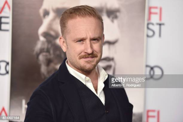 Ben Foster attends the screening of 'Hostiles' at AFI FEST 2017 Presented By Audi at TCL Chinese Theatre on November 14 2017 in Hollywood California
