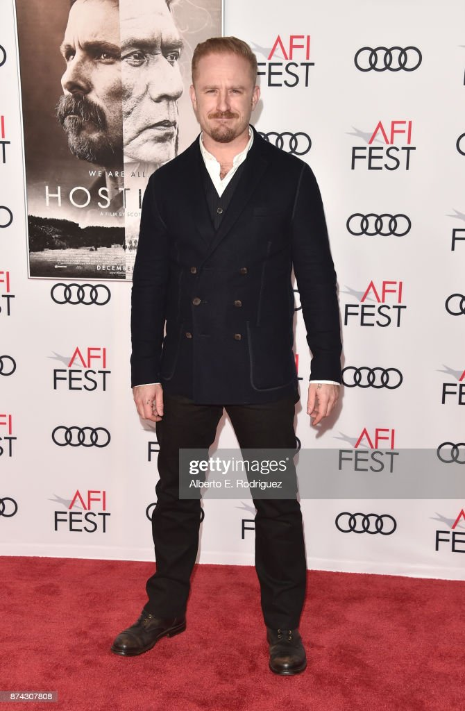 Ben Foster attends the screening of 'Hostiles' at AFI FEST 2017 Presented By Audi at TCL Chinese Theatre on November 14, 2017 in Hollywood, California.