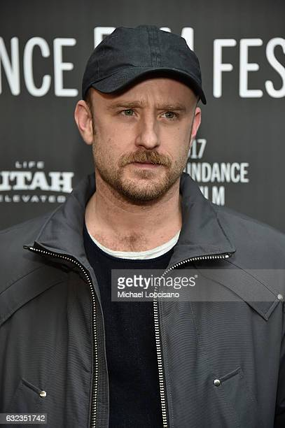 Ben Foster attends the 'The Hero' premiere on day 3 of the 2017 Sundance Film Festival at Library Center Theater on January 21 2017 in Park City Utah