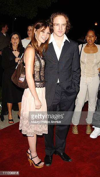 Ben Foster Diane Gaeta during Bang Bang You're Dead Premiere at Paramount Theater in Hollywood California United States