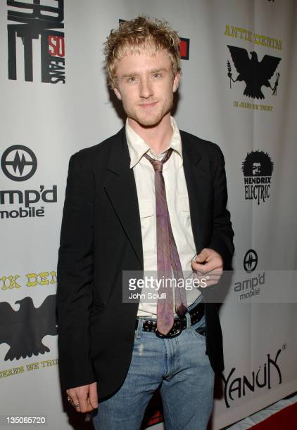 Ben Foster during Joy Bryant, Elizabeth Banks and Bijou Phillips Host Mean Magazine Release Party Sponsored by Antik Denim and Amp'd Mobile at LAX in...