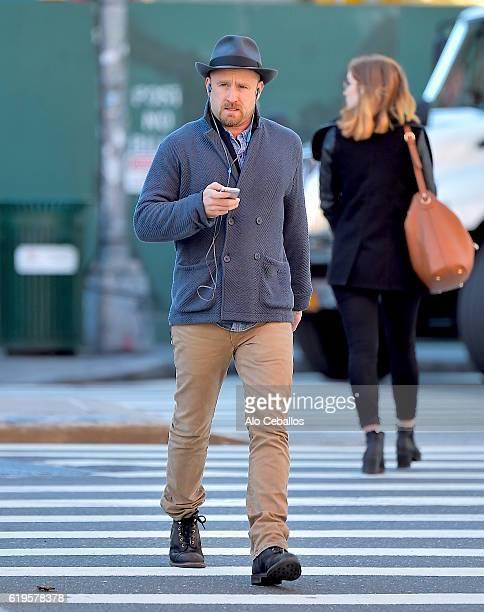 Ben Foster is seen in Soho on October 31 2016 in New York City