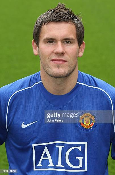 Ben Foster of Manchester United poses during the club's official annual photocall at Old Trafford on August 28 2007 in Manchester England