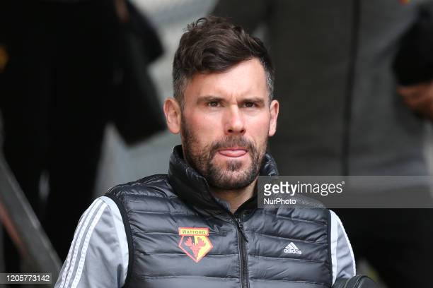 Ben Foster of Watford during the Premier League match between Crystal Palace and Watford at Selhurst Park London on Saturday 7th March 2020