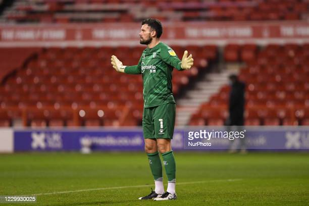 Ben Foster of Watford during the Sky Bet Championship match between Nottingham Forest and Watford at the City Ground, Nottingham on Wednesday 2nd...