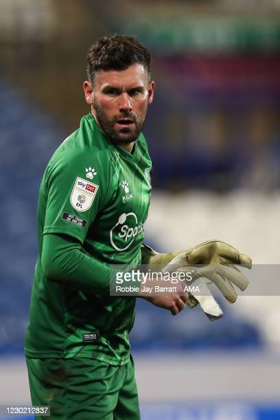 Ben Foster of Watford during the Sky Bet Championship match between Huddersfield Town and Watford at John Smith's Stadium on December 19, 2020 in...