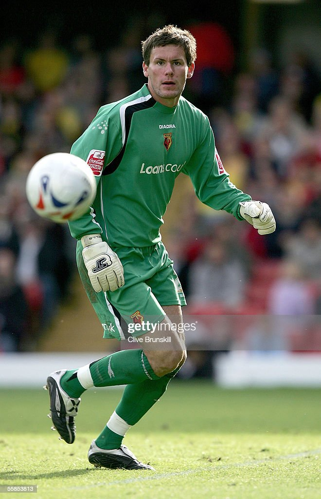 Ben Foster of Watford in action during the Coca Cola Championship match between Watford and Sheffield United at Vicarage Road on September 17, 2004 in Watford, England.