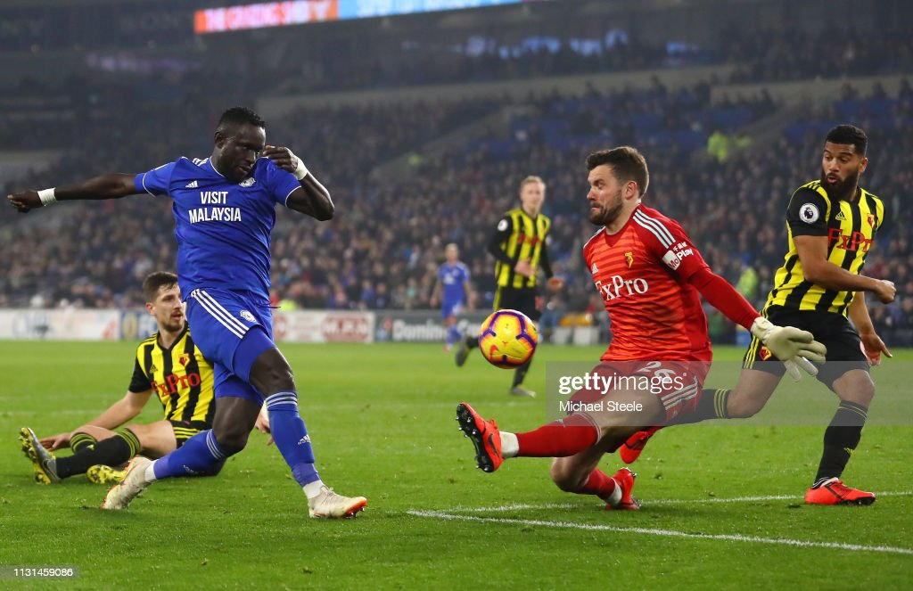Cardiff City v Watford FC - Premier League : News Photo