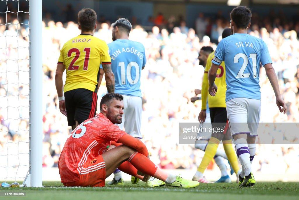 Manchester City v Watford FC - Premier League : News Photo