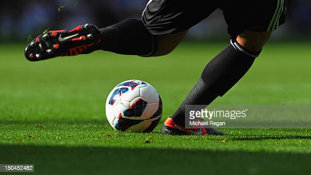 Ben Foster of West Brom takes a goal kick during the Barclays Premier League match between West Bromwich Albion and Liverpool at The Hawthorns on...